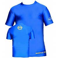 Компрессионная футболка для детей и подростков Berserk Sport голубой