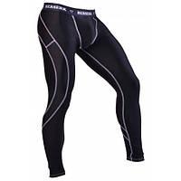 Мужские штаны с ракушкой из хлопка Berserk Sport черный