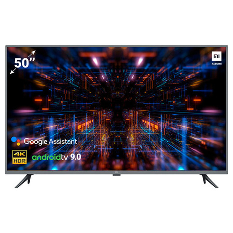 Телевизор Xiaomi Mi TV UHD 4S 50'' International LED 4K (3840x2160) Android 9.0 Smart TV Wi-Fi