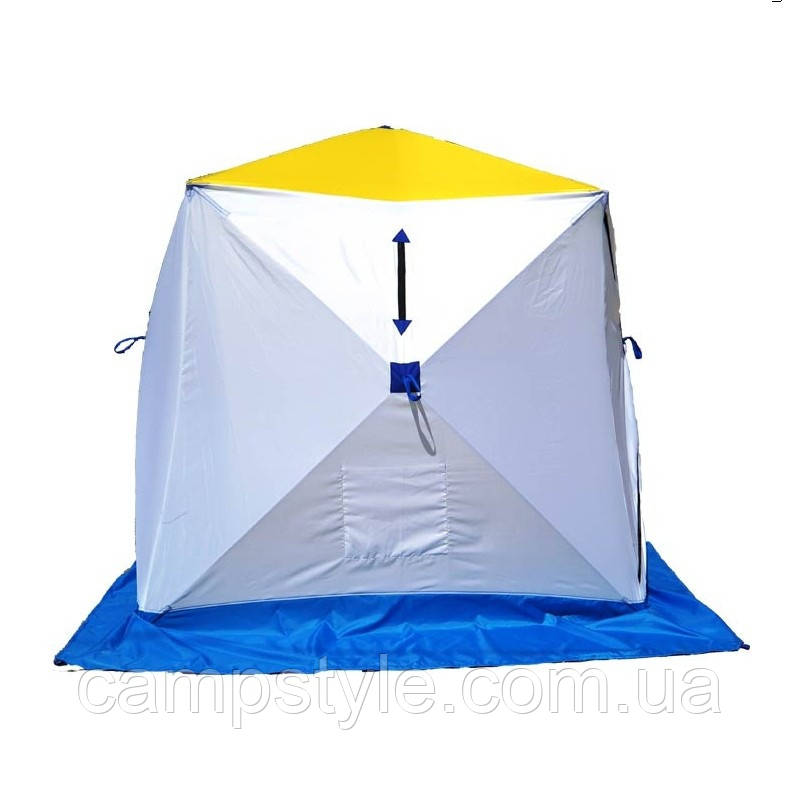 Трехместная палатка для зимней рыбалки Призма (СТЭК)