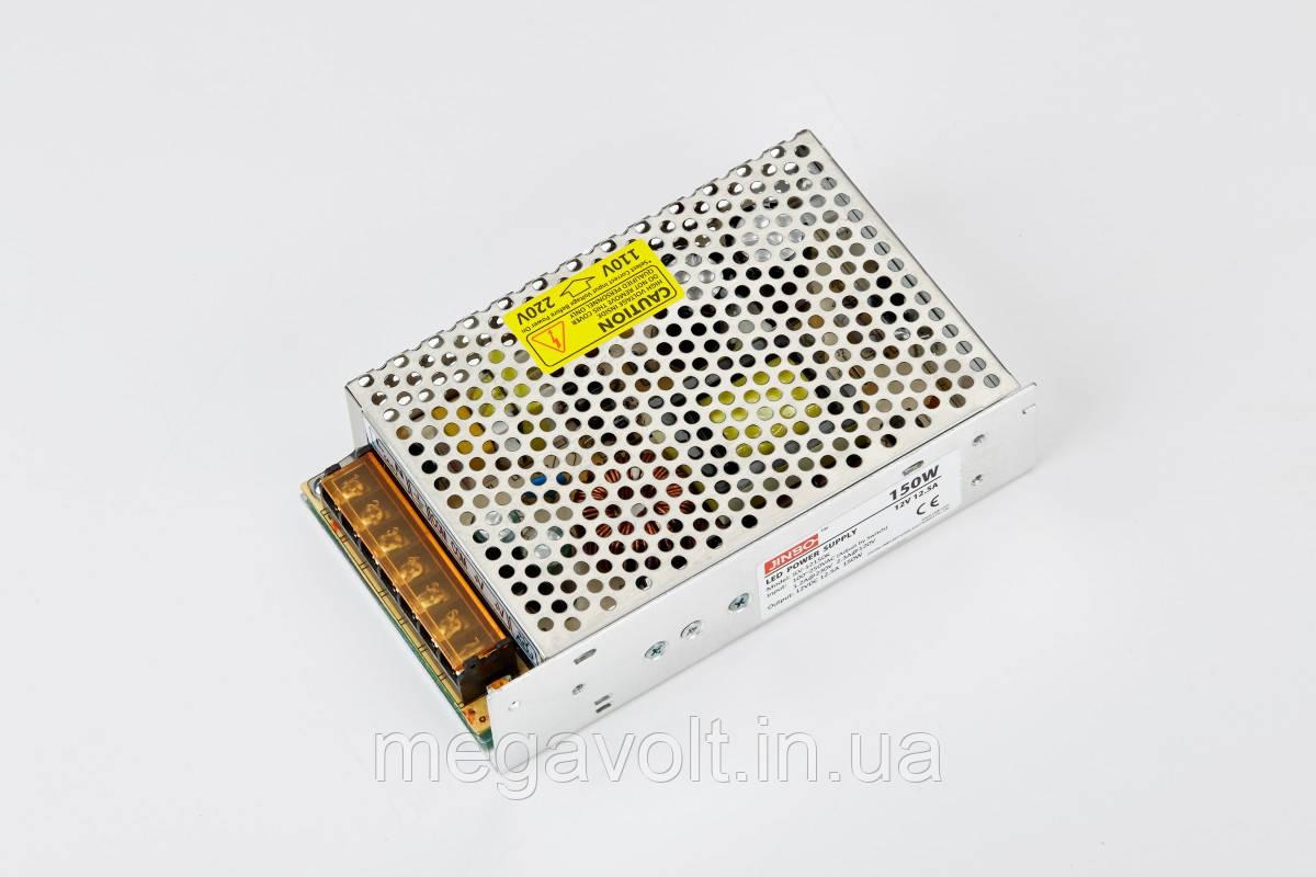 Блок питания 150W 12V негерметичный premium Jinbo