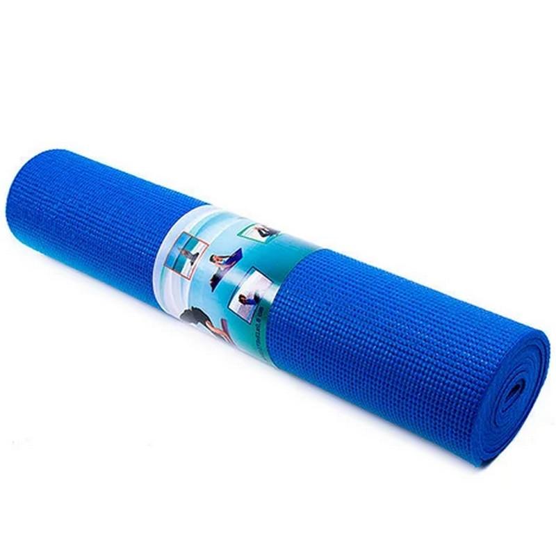 Коврик для йоги Power System Fitness Yoga 180 см Синий (Оригинальные Фото)