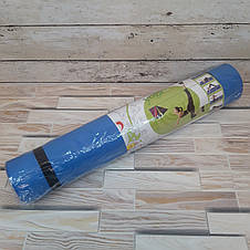 Коврик для йоги Power System Fitness Yoga 180 см Синий (Оригинальные Фото), фото 2