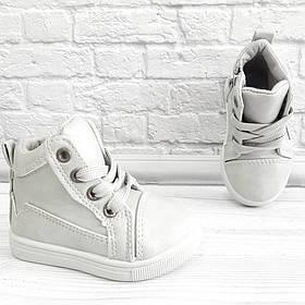 Осіннє взуття унісекс на шнурівках та замочку. Розмір:19-24.