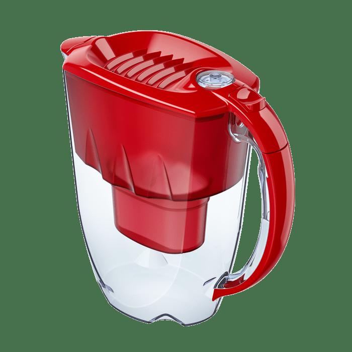 Фільтр-глечик Аквафор Аметист (червоний) 2,8 л для очищення водопровідної води