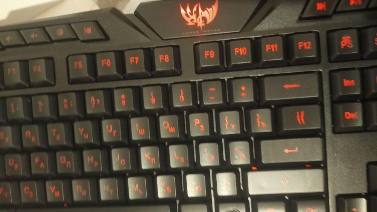 Игровая клавиатура с 3-х цветной подсветкой M200