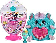 Інтерактивна м'яка іграшка Котик 15 сюрпризів ZURU Rainbocorns Plush Sweet Shake Surprise, фото 1