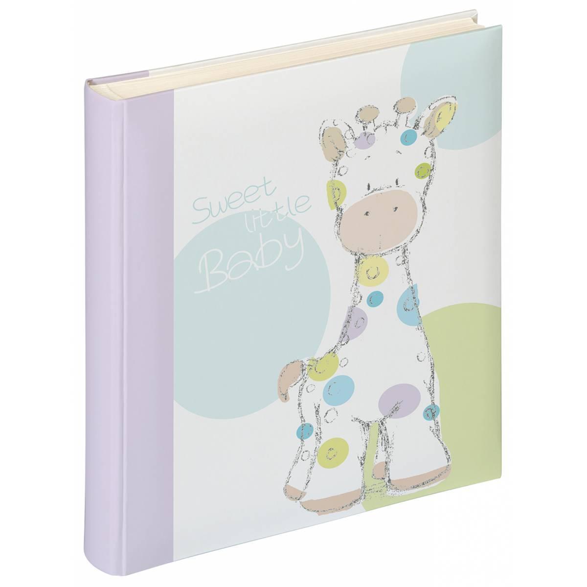 Детский альбом для фотографий на 50 страниц Walther Giraffe Kima