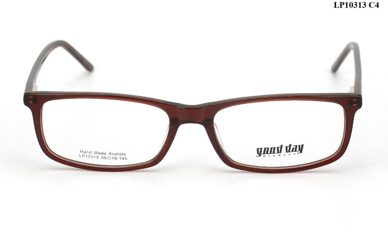 Пластикова оправа для окулярів (можна вставити лінзи за рецептом)