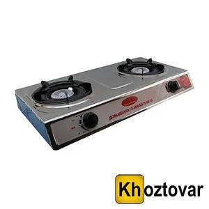 Настольная газовая плита на 2 конфорки DT-1102