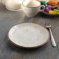 Мелкая пирожковая тарелка из фарфора Kutahya Porselen Atlantis 170 мм (CR3017), фото 1
