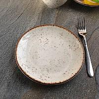 Мелкая тарелка фарфоровая Kutahya Porselen Atlantis 210 мм (CR3021), фото 1