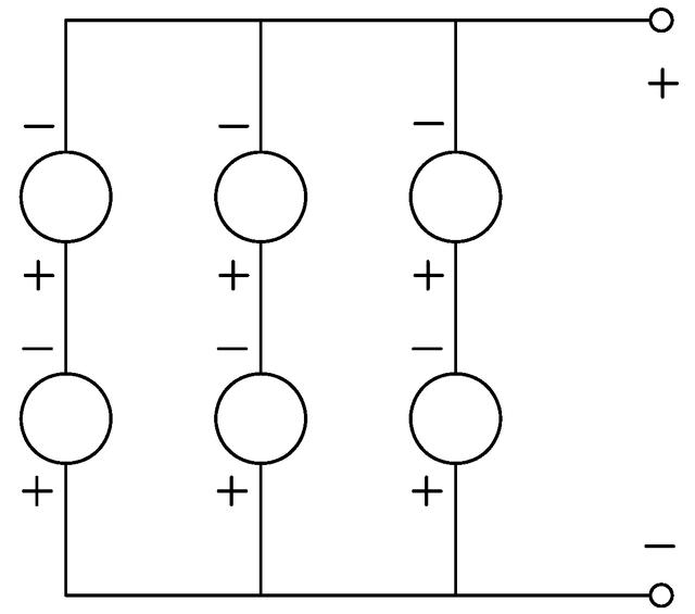 Схема солнечной ячейки