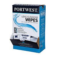 Салфетки для очистки линз Portwest PA01