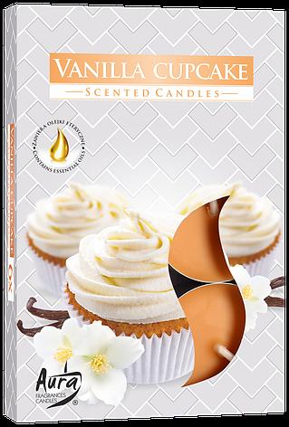 Ароматические свечи таблетки 6шт/уп Bispol №P15-202 Ванильное печенье, фото 2