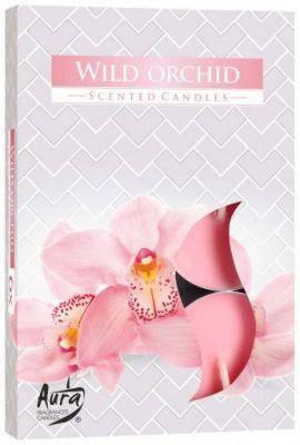 Ароматические свечи таблетки 6шт/уп Bispol №P15-170 Дикая орхидея, фото 2