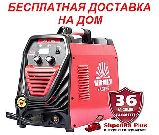 Сварочный полуавтомат/ инвертор MIG-MAG + MMA, 160А, Латвия, Vitals Master MIG 1600