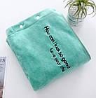 Банный набор для сауны и бани, для ванной женский 2 предмета Зеленый