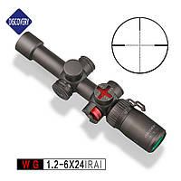 Оптический прицел Discovery Optics WG 1.2-6x24 IRAI, фото 1