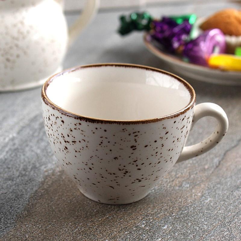 Чашка фарфоровая из цветного фарфора Kutahya Porselen Atlantis 180 мл (CR3718)