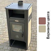 Печь стальная BLIST AMBASADOR 9,3 кВт буржуйка камин (піч камін Блист стальна)