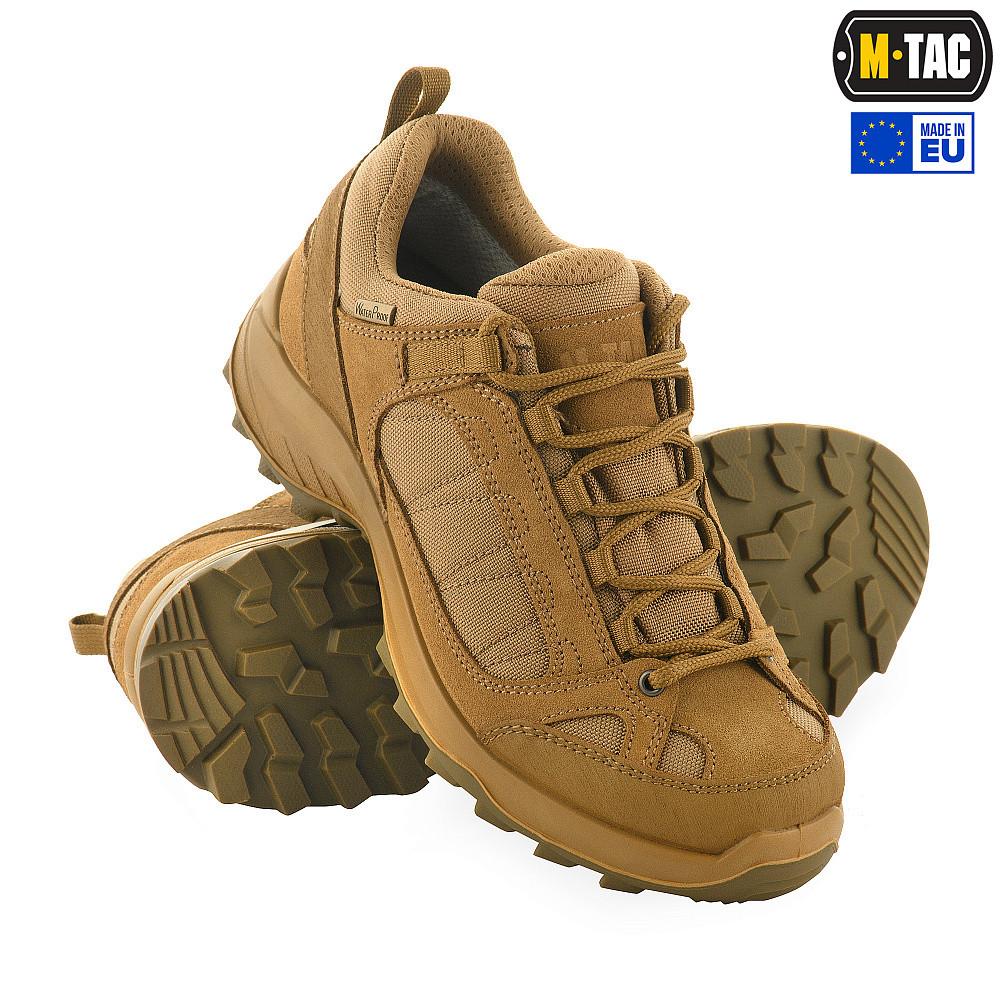 M-Tac кросівки тактичні демісезонні койот