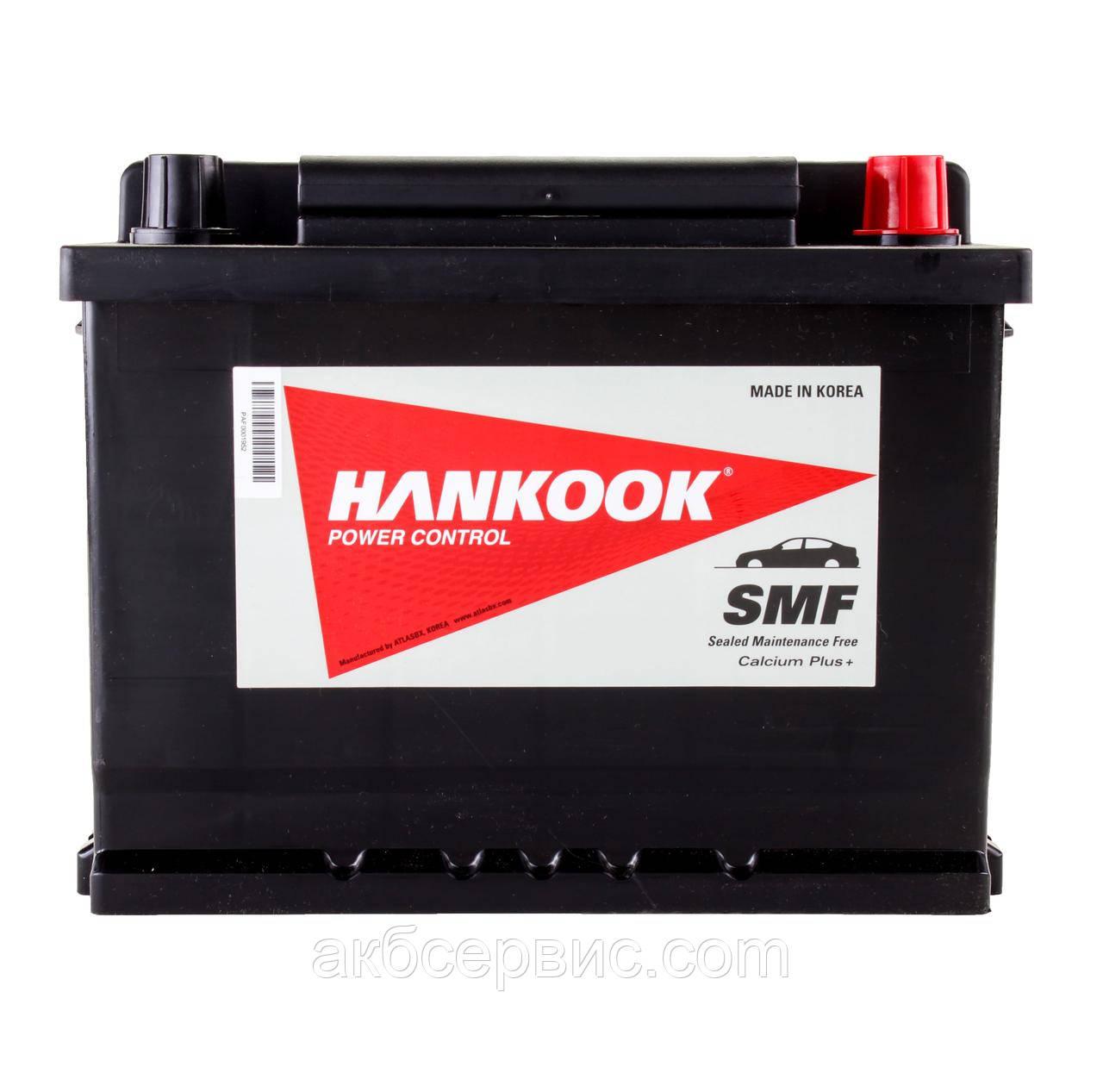 Аккумулятор автомобильный Hankook 6СТ-62 АзЕ MF56219