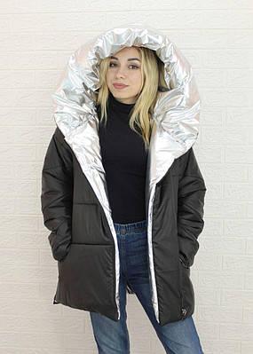 Женская куртка-одеяло на демисезон