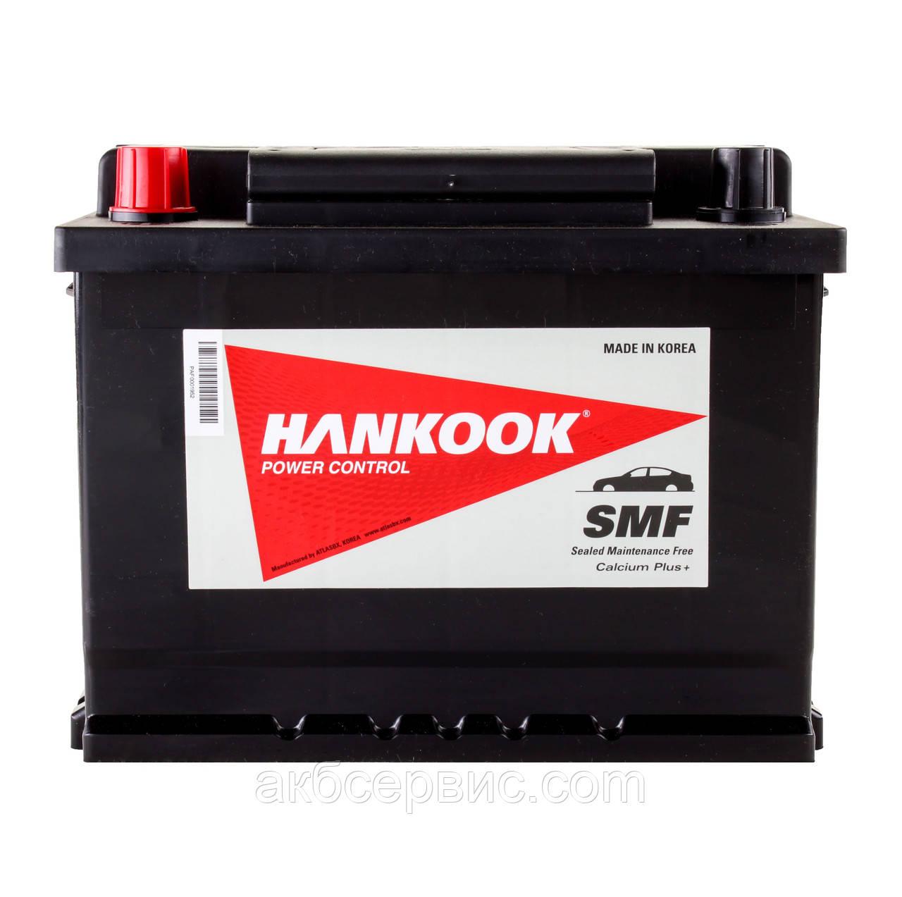 Аккумулятор автомобильный Hankook 6СТ-62 Аз MF56220