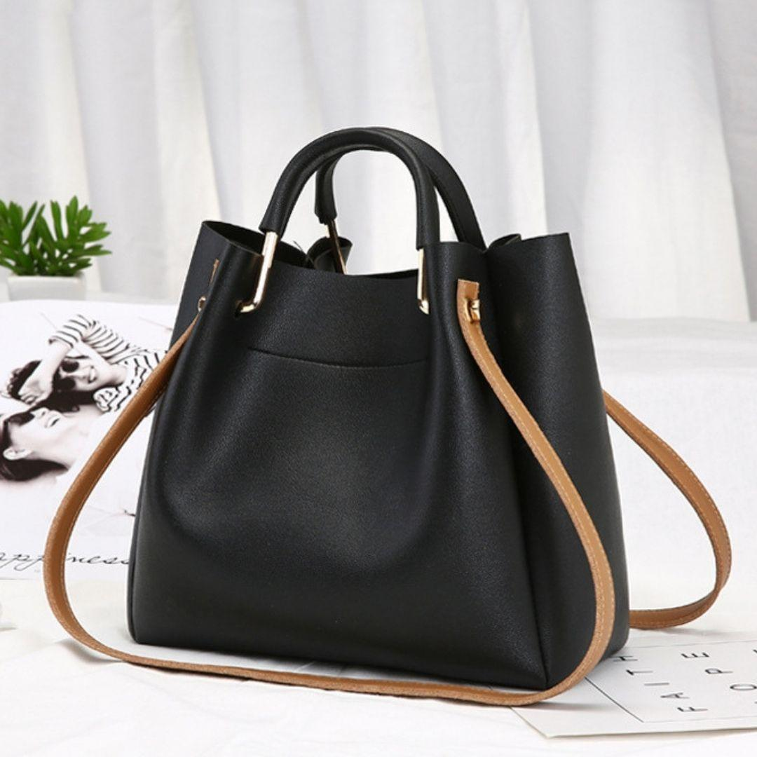 Заказ от 1000 грн, Женская сумочка черная оптом FS-3626-10