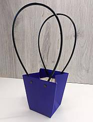 Подарочная упаковка,Сумка для букета Синий