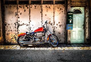 Установка большого заднего колеса на мотоцикл