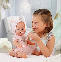 Беби Борн интерактивная Голубоглазая малышка Baby Born Interactive