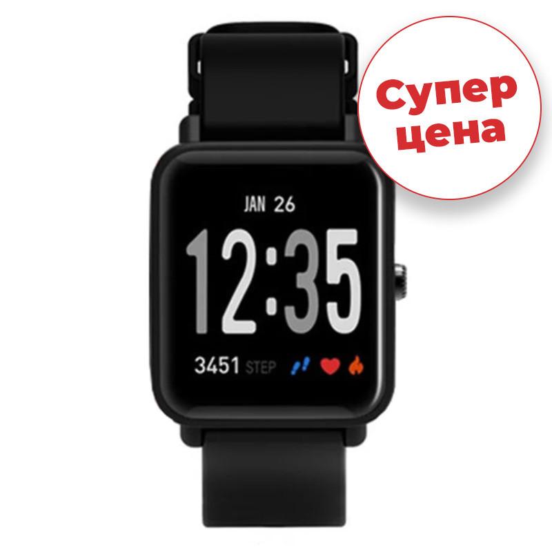 Часы спортивные JETIX FitPro с GPS трекером - (Black)