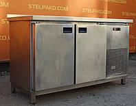 Холодильный стол из нержавеющей стали «SAGI L14» 1.4 м. (Италия), детали заводские, Б/у