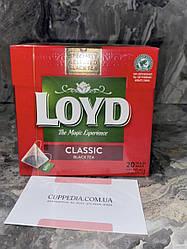 Чорний чай Loyd Classic black tea (20 пакетиків)
