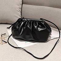 Заказ от 1000 грн, сумка Pouch, клатч Bottega черный, тренд 2021, FS-3651-10, фото 1