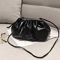 Заказ от 1000 грн, сумка Pouch, клатч Bottega черный, тренд 2021, FS-3651-10