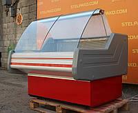 Низькотемпературна холодильна вітрина «Cold W N 13» 1.3 м. (Польща), мармурова стільниця, Б/в