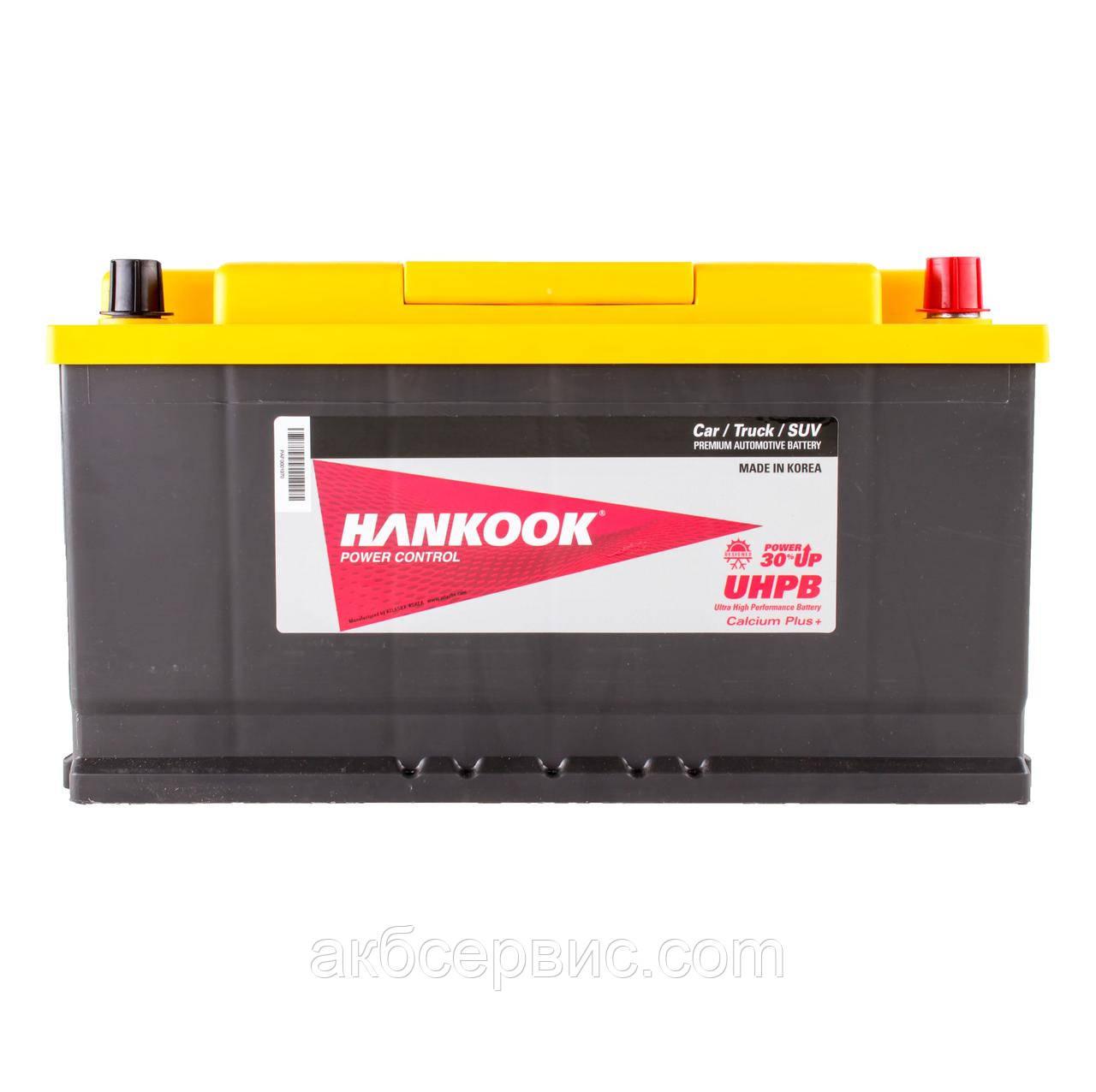 Аккумулятор автомобильный Hankook 6СТ-105 АзЕ UMF60500