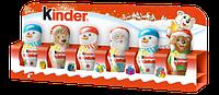 Набор новогодняя шоколадная фигура Kinder Киндер (15x6)x13 шт в ящике