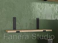 Полиця в стилі лофт товщина 20 мм, фото 2