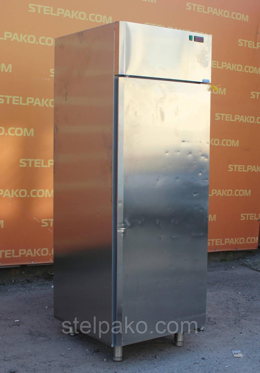 Низкотемпературный глухой шкаф из нержавеющей стали «DGD AF07EKOTN», (Италия), полезный объём 600 л., Б/у