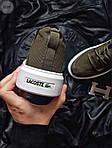 Мужские кроссовки Lacoste Khaki (хаки) 553TP, фото 6