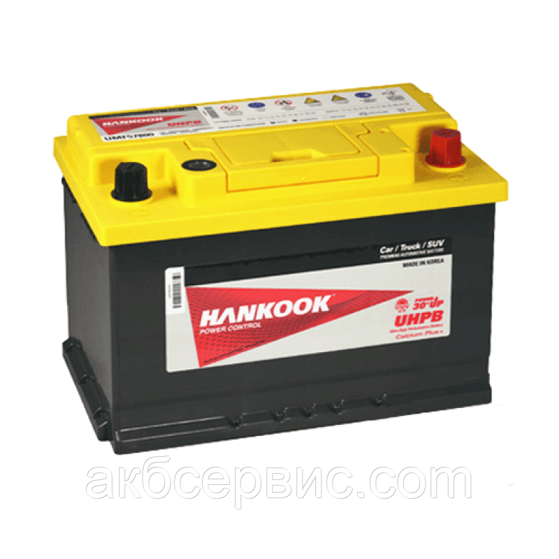 Аккумулятор автомобильный Hankook 6СТ-78 АзЕ UMF57800