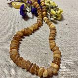 Бусы из натурального необработанного лечебного янтаря, фото 2