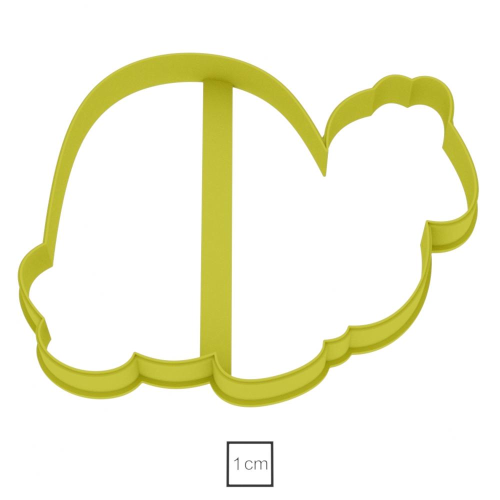 Висічка для пряників у вигляді черепашки