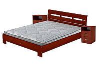 Кровать 160х200 с 2-мя тумбочками ПКТ-2 Стиль яблоня Компанит (164х213х77 см), фото 1
