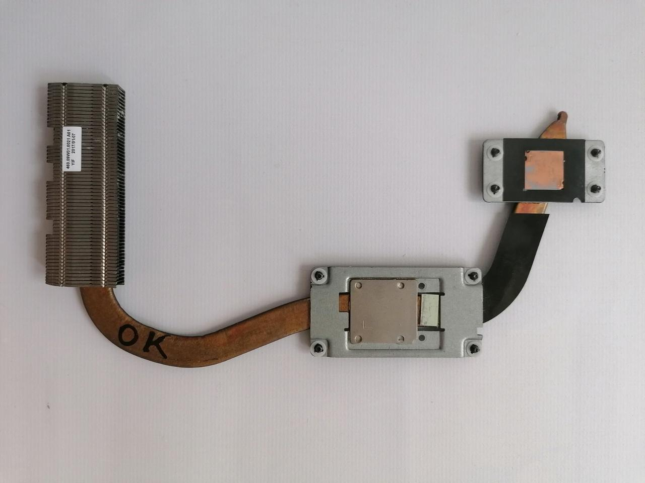 Б/У радиатор ( система охлаждения ) для ноутбука Dell Inspiron 3565, 3567, 3576 Vostro 3468 - 0X1K2K