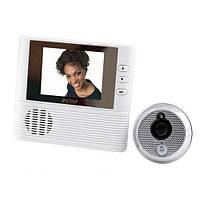 Видеоглазок C1, ЖК экран, запись визитёров на Micro SD, функциональная модель